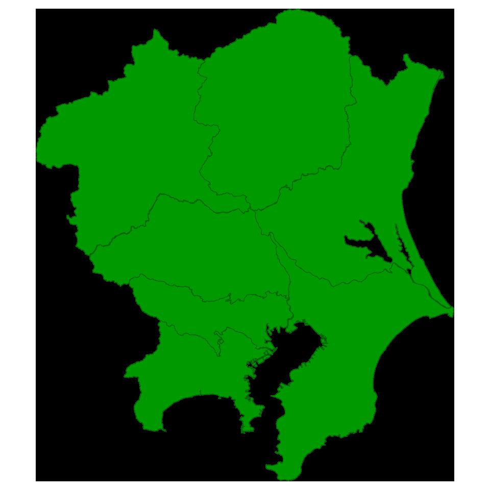 ネズミ駆除対応エリア、千葉県全域、東京23区、埼玉県東部、茨城県南部にご対応
